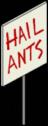 """знак """"Слава муравьям"""""""