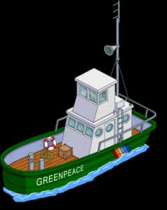 """Лодка """"Гринпис"""""""