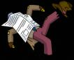 chesterlampwick_sleep_newspaper