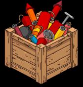 Ящик с фейерверками