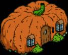 Тыквенный домик