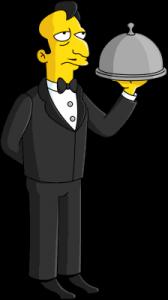 Французский официант