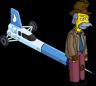 Ракетомобиль и Честер Лэмпвик