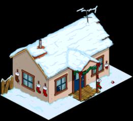 Рождеств. дом безумной кошатницы