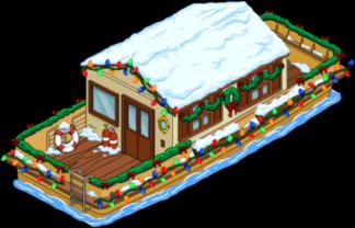 Рождественская баржа
