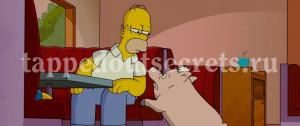 Свин бросается к Гомеру