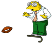hansmoleman_man_being_hit_by_football_stage_show_left_1