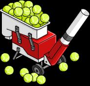 Теннисная машинка