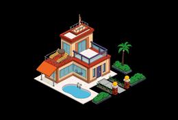 элитный дом  уровень 2