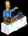 Герберт показывает изобретение