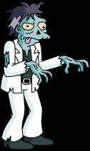 Зомби-танцор диско