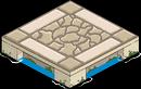 плитка для украшенного пирса