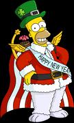 Праздничный Гомер