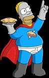 Человек-пирог