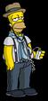 Крутой Гомер слушает инди-рок