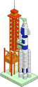 Стартовая площадка для ракеты