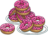 Приз. 10 пончиков