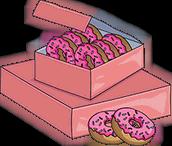 Приз. 20 пончиков
