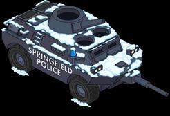 Полицейский танк