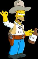 Гомер-ковбой разблокирован