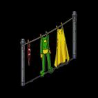 Геройская бельевая верёвка