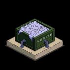 Люцитовый контейнер