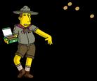 Патриот продает органическое печенье