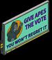 Отдать обезьянам панно голосования