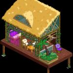 Укромный пляжный домик