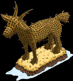 Гигантский рождественский козёл