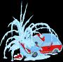 Замёрзшая машина Фландерса