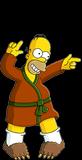 Гомер воскресным утром