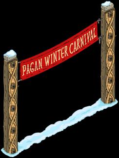карнавальный знак языческой зимы