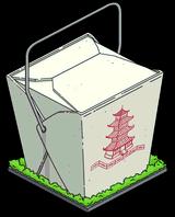 Гигантская коробка на вынос