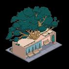 Стейк-хаус с деревом