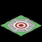Мишень-парашютист