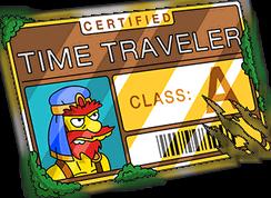 Лицензия путеш. во времени