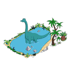 Озеро динозавров