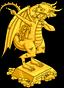 Статуя дракона Бёрнса