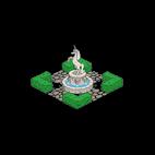 Внутренний двор академии магии
